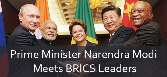 Prime Minister Narendra Modi to Meet BRICS Leaders final