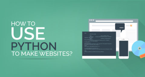 how to create websites using python