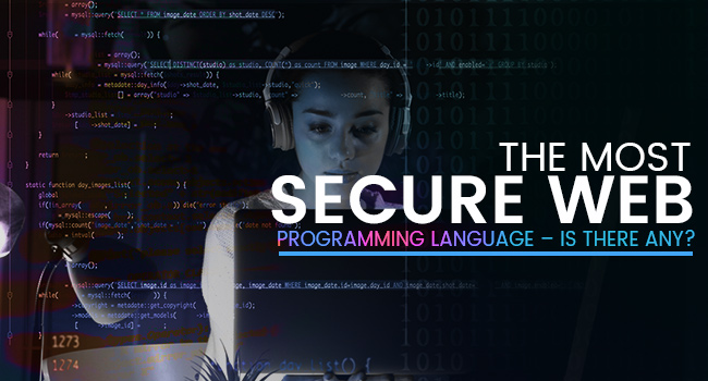 Most Secure Web Programming Language