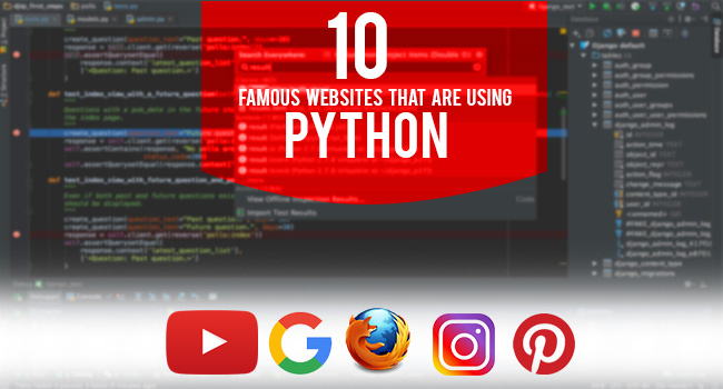 Websites Using Python