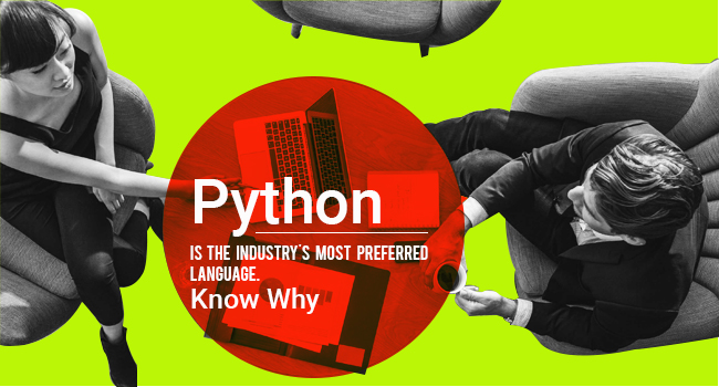 Python is the Industry's Most Preferred Language  Know Why?