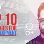 Top 10 Languages For IOT Development