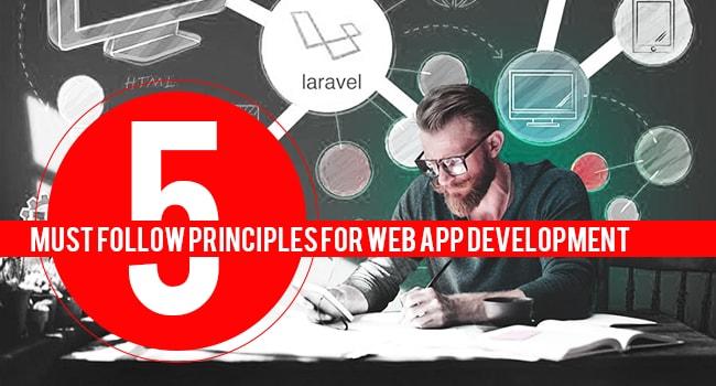 principles of web app development