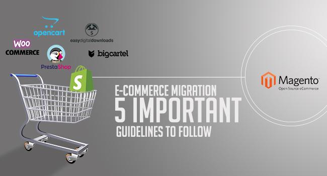 Ecommerce Migration