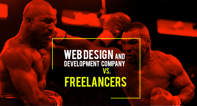 Web Development Company vs freelancer