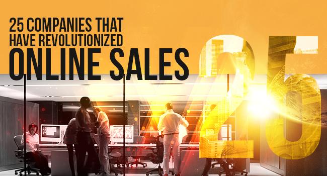 online sales companies