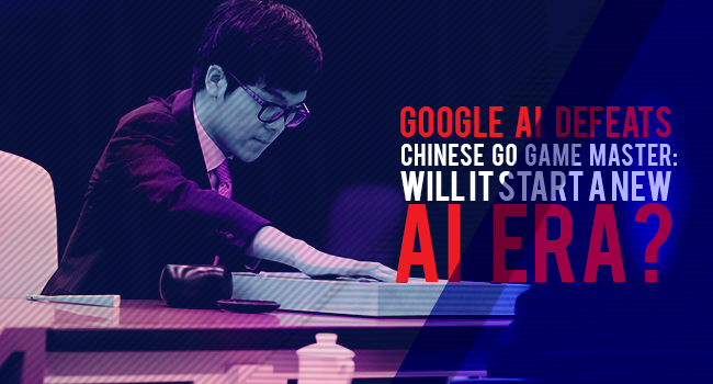 Google AI defeats Chinese GO game master