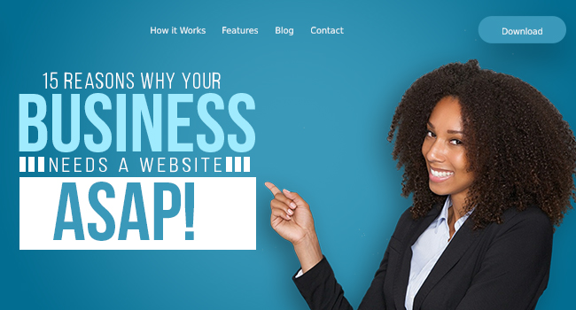 why business needs a website