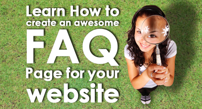 How To Create FAQ Page
