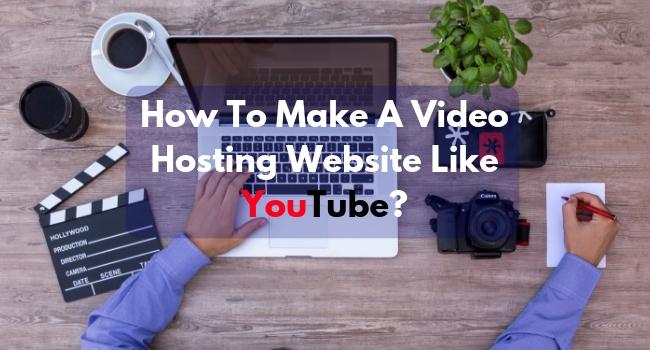 how to create a youtube like website