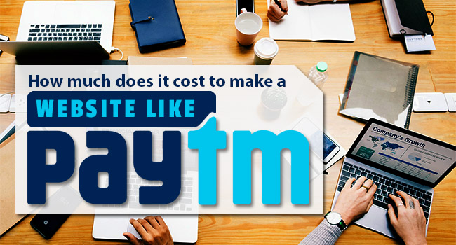 build a website like paytm