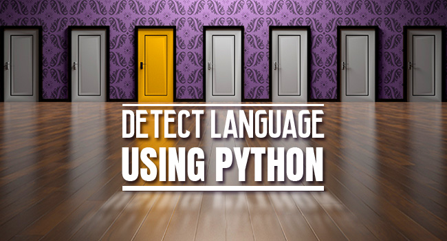 python language detection