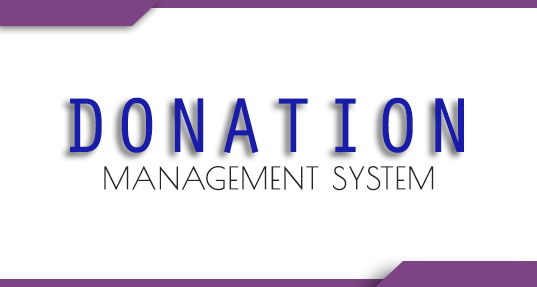 Donation Management System