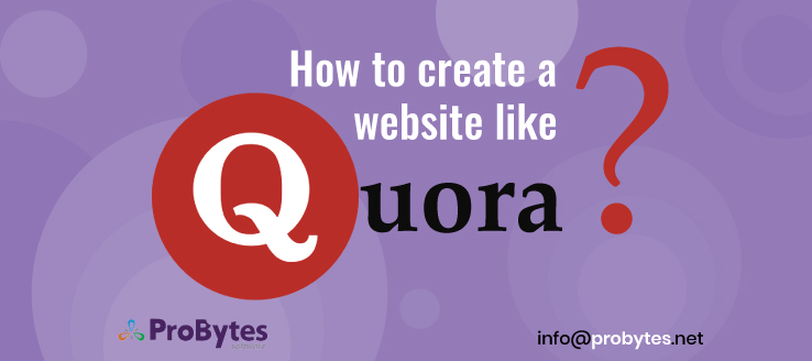 how to create a website like quora