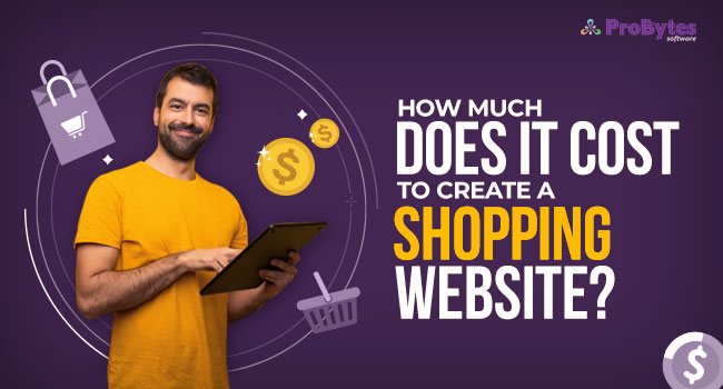 cost to create a shopping website