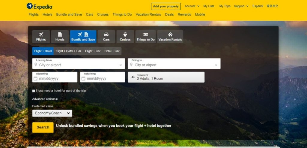 Expedia-Hotel-Booking-Sites