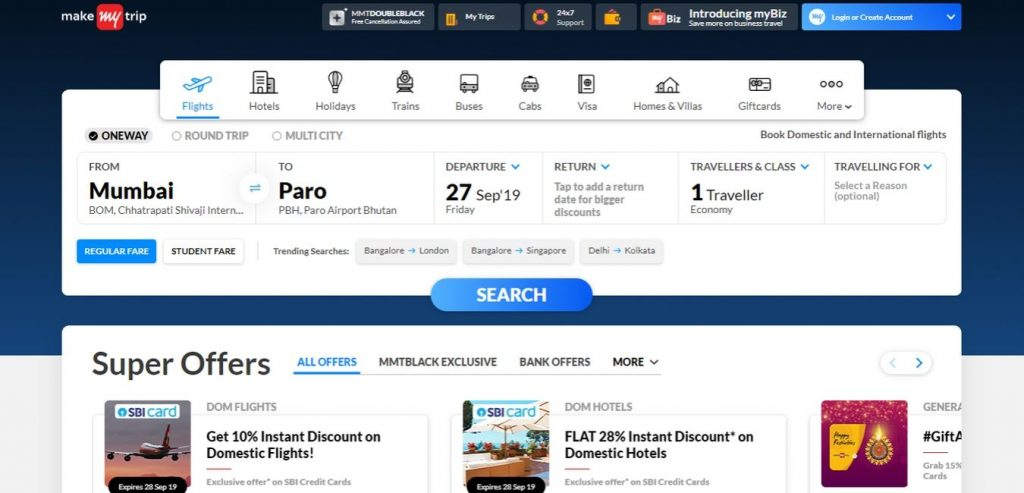 makemytrip-Hotel-Booking-Sites