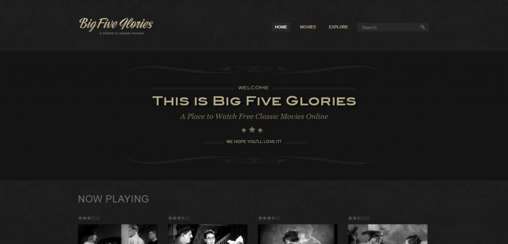 Big-five-glories-Free-Online-Movie-Website