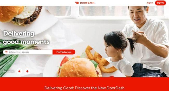 Doordash-Food-Delivery-Websites