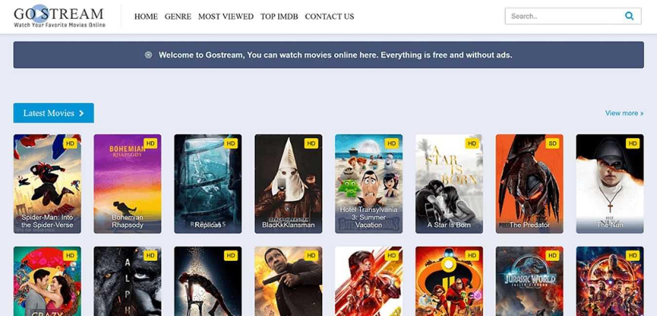 Gostream-Free-Online-Movie-Websites