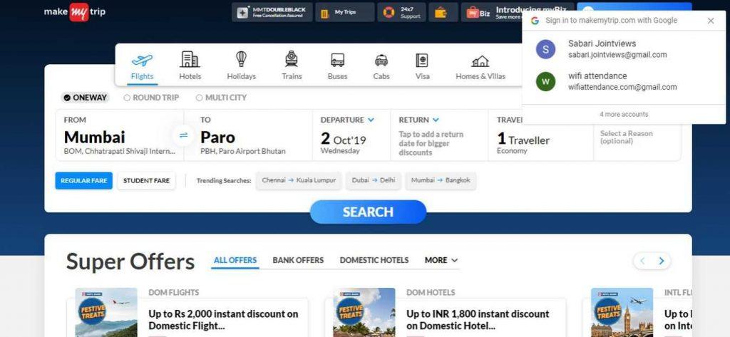 Make-My-Trip-Flight-Booking-Sites
