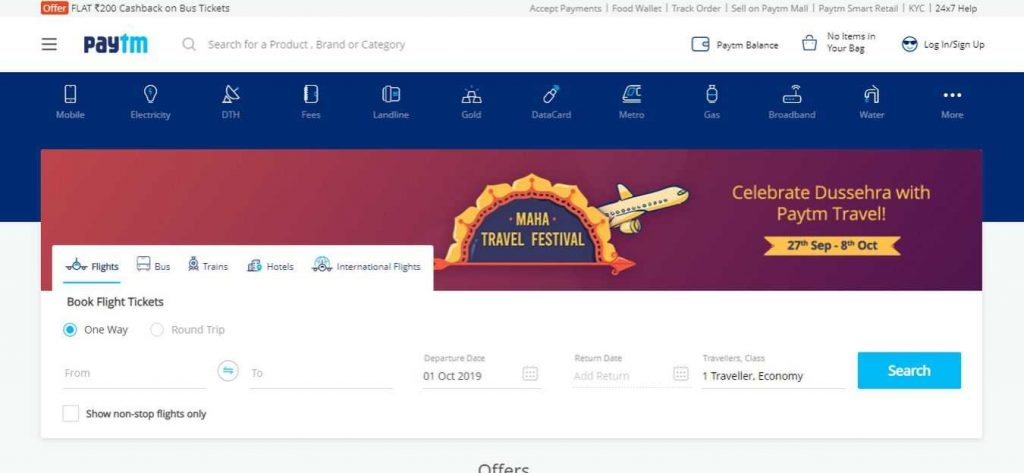 Paytm-Flight-Booking-Sites