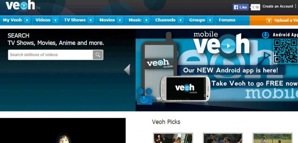 Veoh-Free-Online-Movie-Website