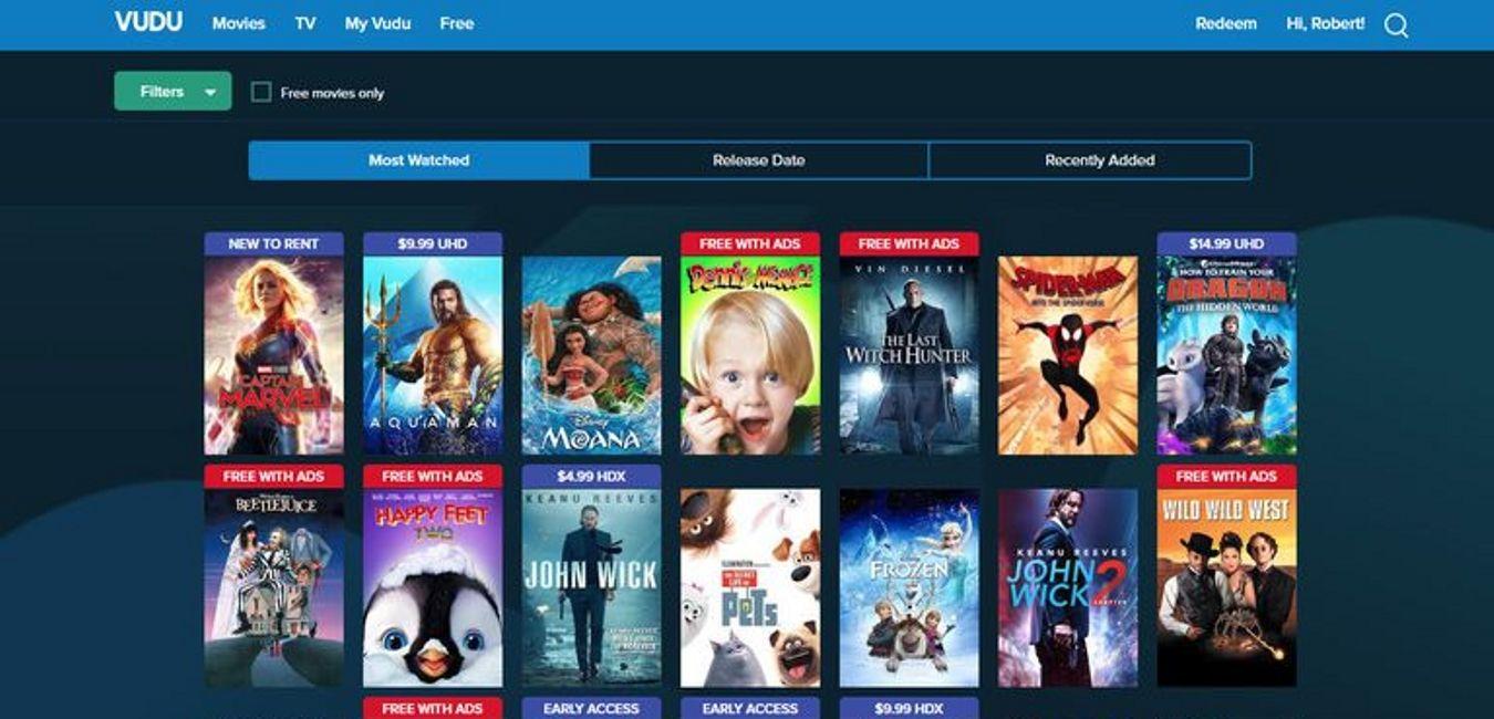 Vudu-Free-Online-Movie-Websites