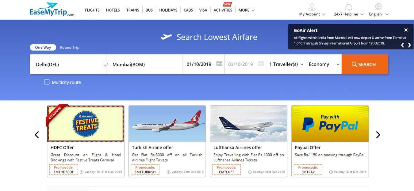 easemytrip-Flight-Booking-Sites
