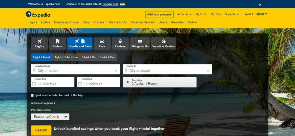 expedia-Flight-Booking-Sites