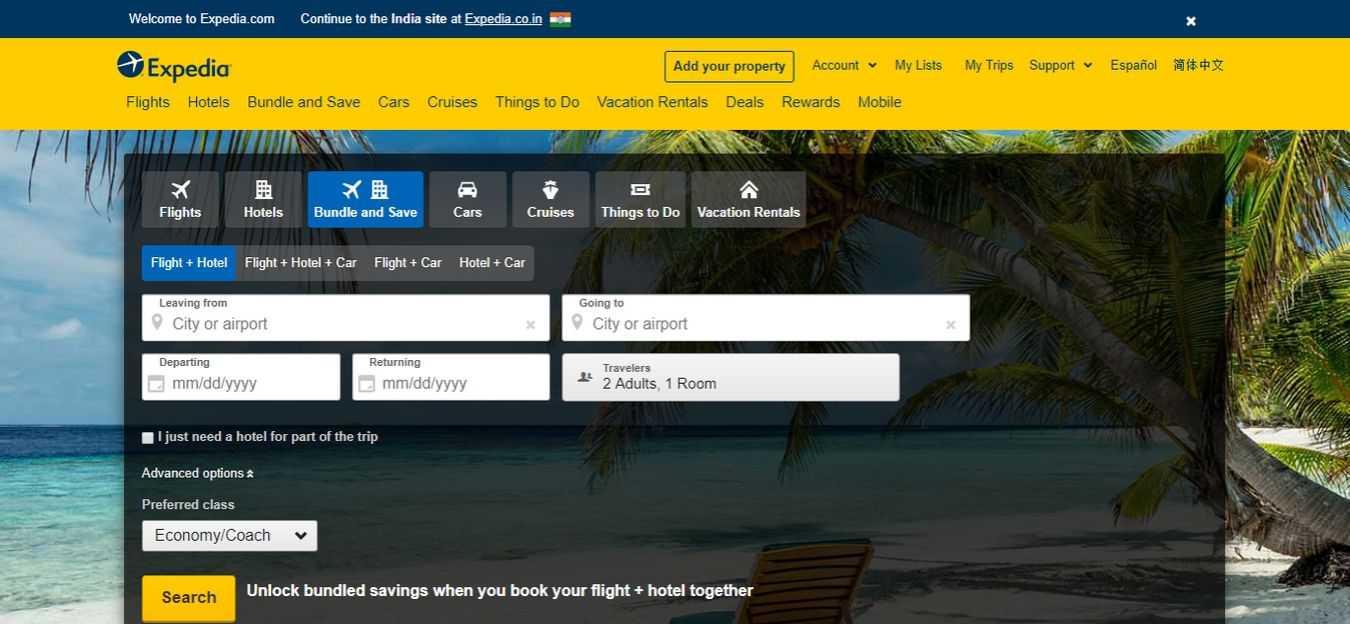 expedia-Flight-Booking-Sites
