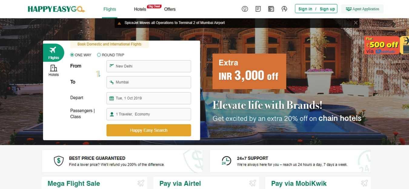happyeasygo-Flight-Booking-Sites