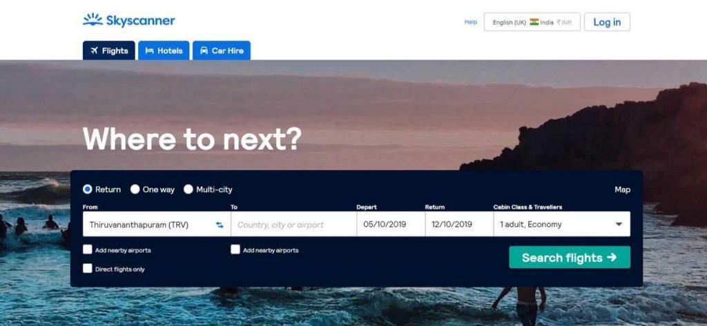 skyscanner-Flight-Booking-Sites