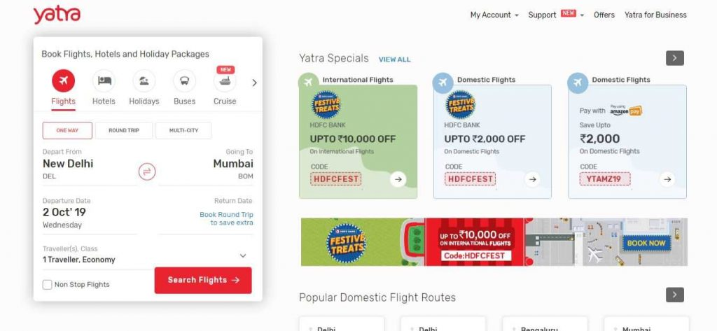 yatra-Flight-Booking-Sites