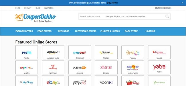 CouponDekho-Best-Coupon-Websites
