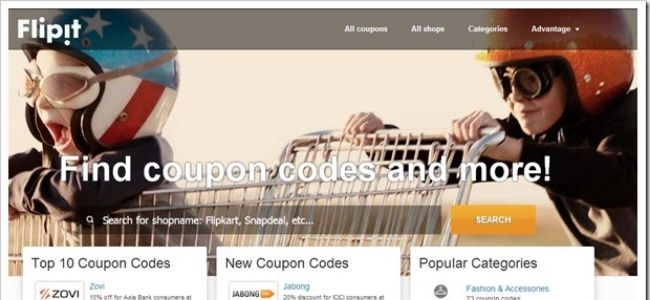 Flipit-Best-Coupon-Websites