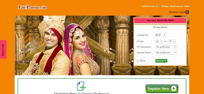 LifePartner-best-Matrimonial-Websites