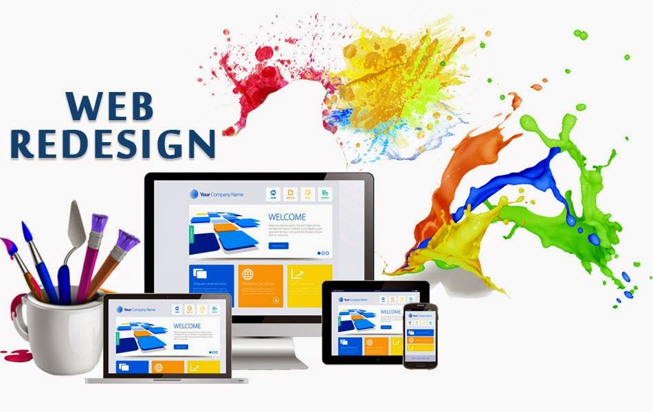 Benefits of Website Redesigning
