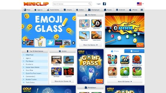 Miniclip-free-game-websites