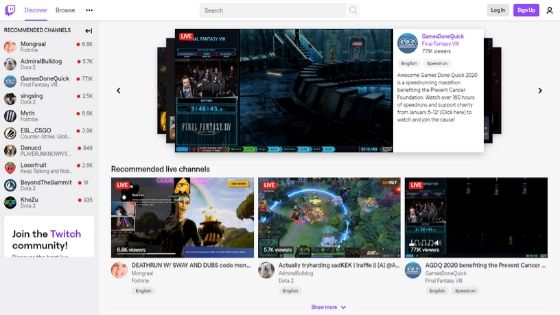 Twitch-free-game-websites
